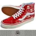 VANS バンズ SK8-HI 38 REISSUE (50th) SKULL RED