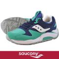 Saucony サッカニー GRID9000 NAVY/GREEN