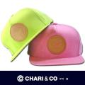 CHARI&CO チャリアンドコー  SNAP BACK LINEN CAP【全2色】