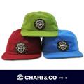 CHARI&CO チャリアンドコー  5PANEL WAFFLE ジェットキャップ 【全3色】