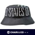 CHARI&CO チャリアンドコー  BUCKET HAT STARTER 星条旗