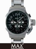 MAX XL WATCH  5-MAX 454 Black/Silver