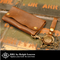 RRL ダブルアールエル INDIAN Leather Surveyor Wallet