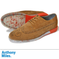 Anthony Miles アンソニーマイルズ CLIPSTONE SUEDE RICH TAN