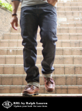 RRL ダブルアールエル SLIM NARROW RIGED DENIM