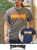 THRASHER スラッシャー FLAME LOGO(フレームロゴ) 半袖 Tシャツ