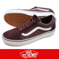 VANS バンズ OLD SKOOL BURGUNDY/WHITE
