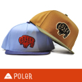 POLeR ポーラー SNAP BACK BUFFLO キャップ