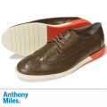 Anthony Miles アンソニーマイルズ CLIPSTONE LEATHER BROWN