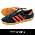 adidas アディダス HAMBERG Black/Orange