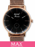MAX XL WATCH 5-MAX729   RoseGold/Black