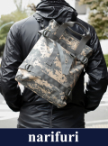 narifuri ナリフリ Pixel CAMO Weekend Shoulder BAG(NF947)
