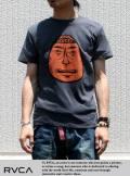 RVCA ルカ ANP Tシャツ Barry Head Badge BLK