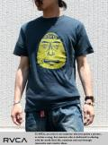 RVCA ルカ ANP Tシャツ Barry Head Badge NVY