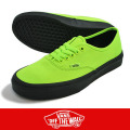 VANS バンズ Authentic Neon  GREEN/BLACK