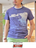 Tailgate テイルゲート S/S TEE  BLUE  MAJOR WAVE