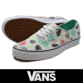 VANS バンズ Authentic Washed Kelp Multi/White