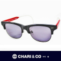 CHARI&CO チャリアンドコー EYEWEAR BENDER BLACK/RED