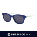CHARI&CO チャリアンドコー SUNGLASS T-002LAST NIGHT WAS REAL BLU/L.GRY