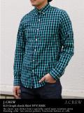 J.CREW グラフチェックシャツ