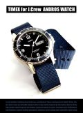 【TIMEX for J.CREW】ANDROS 腕時計