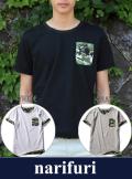 narifuri ナリフリ  Reversible T-shirt(NF928)