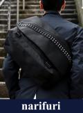 narifuri ナリフリ Studs Messenger bag M : narifuri × Deadman (NF956)