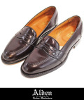 Alden オールデン 684 FULL STRAP LOAFER BURGUNDY