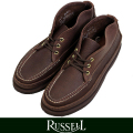 RUSSELL MOCCASIN ラッセルモカシン SPORTING CRAYS CHUKKA  BROWN(paper別注)