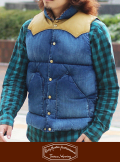 Rocky Mountain ロッキーマウンテン DENIM DOWN VEST