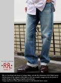 RRL ダブルアールエル LOW STRAIGHT LEG デニムパンツ