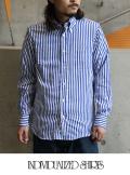 INDIVIDUALIZED SHIRTS インディヴィジュアライズドシャツ BENGAL STRIPE B.D.SHIRTS