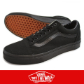 VANS バンズ OLD SKOOL BLACK/BLACK