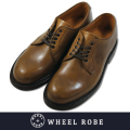 WHEEL ROBE ウィールローブ PLAIN TOE TAN