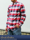 BLACK FLEECE B.Dブロックチェックシャツ