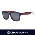 CHARI&CO チャリアンドコー EYEWEAR CROSSOVER BLUE/RED