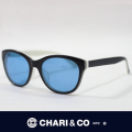 CHARI&CO チャリアンドコー EYEWEAR DOVE BLACK/BLUE
