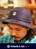 CHARI&CO チャリアンドコー CANVAS BELL HAT ICON LOGO