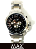 MAX XL WATCH 5-MAX 458 BLACK/SILVER
