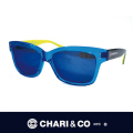 CHARI&CO チャリアンドコー EYEWEAR THE MECHANIC BLUE/YELLOW