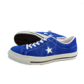 CONVERSE ONE STAR SUEDE BLU