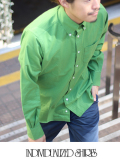 INDIVIDUALIZED SHIRTS インディヴィジュアライズドシャツ COLOR FILL STANDARD FIT BD SHIRT GREEN