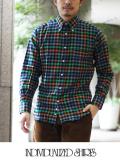 INDIVIDUALIZED SHIRTS インディヴィジュアライズドシャツ CHECK MIX スタンダードフィット GRN
