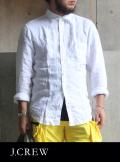 J.CREW ジェイクルー リネンシャツ WHITE