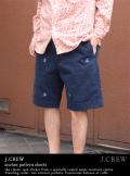J.CREW ジェイクルー anchor pattern shorts イカリ柄ショートパンツ