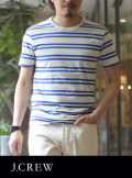J.CREW ジェイクルー BORDER T-SHIRT (Blue/White)