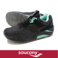 Saucony サッカニー GRID9000 Black/Green