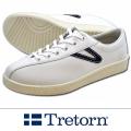 TRETORN トレトン NYLITEナイライト レザー WHITE /NAVY