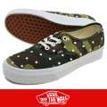 VANS バンズ Authentic Camo Polka Dot