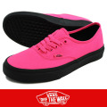 VANS バンズ Authentic Neon  PINK/BLACK